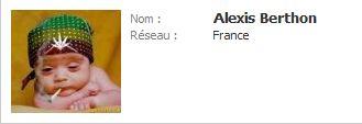 Alexis en mode cana